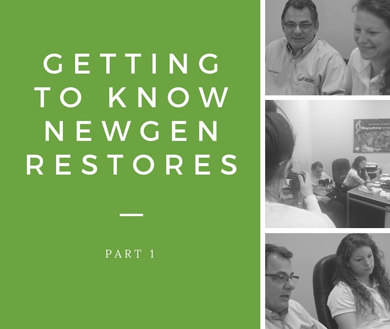Getting to know Newgen Restores (Part 1)