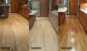 hardwood floor buffing services