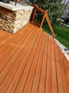 wooden deck staining charlotte nc