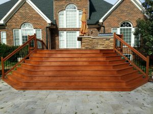 Check out this pressure washing and deck staining project we did at the Keller Residence.