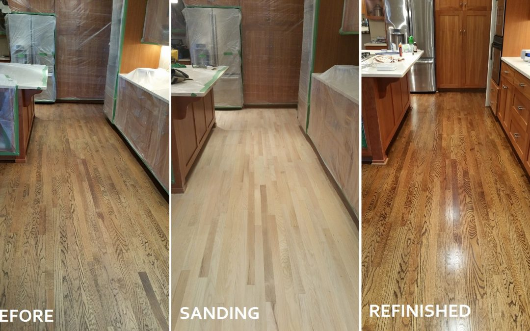Fishers' Hardwood Floor Transformation