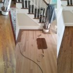Check out this hardwood floor sanding and staining project we did.