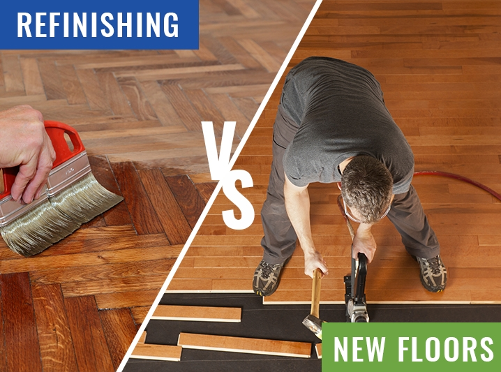 Refinishing Hardwood Floors Or Installing New Flooring Which Is