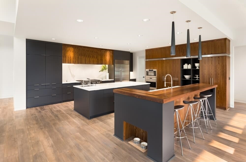 Should You Use Hardwood Floors In Kitchens And Bathrooms Newgen